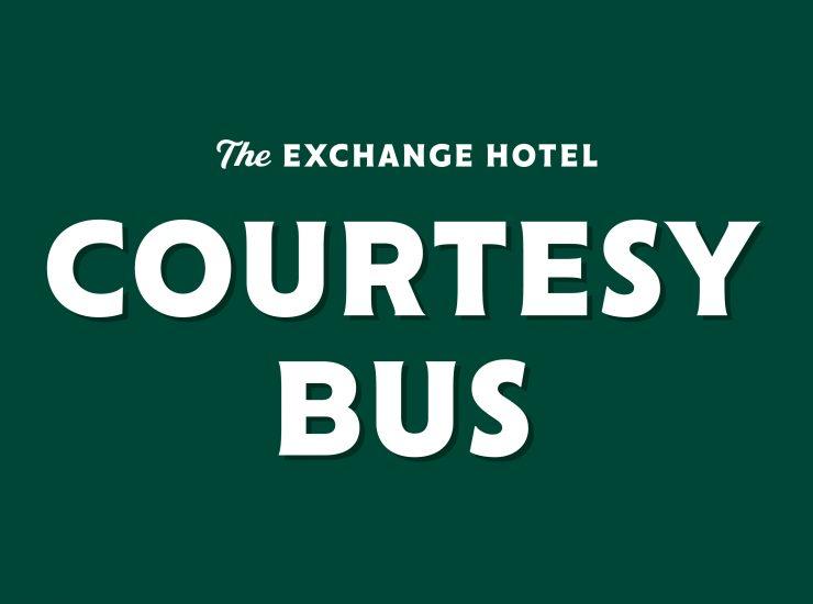 Exchange Courtesy Bus