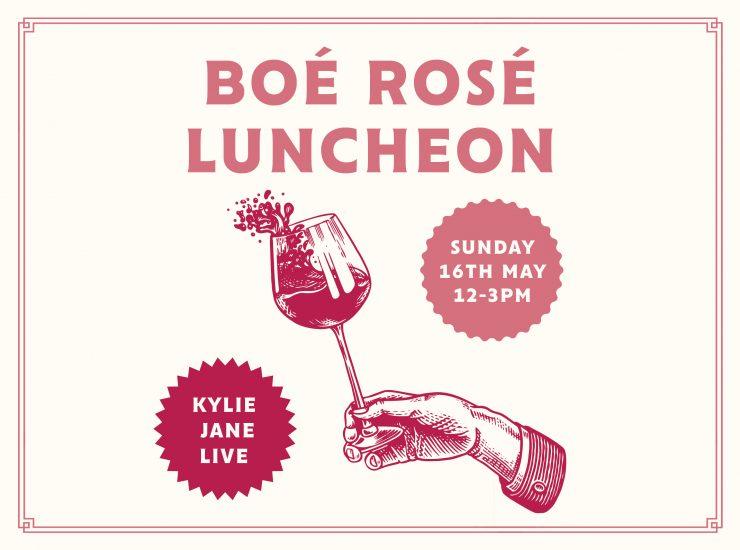 Boé Wines Rosé Luncheon