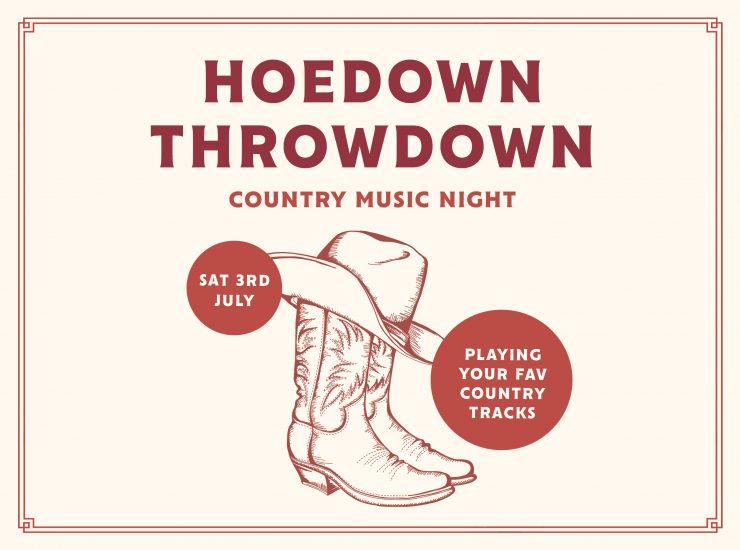 Hoedown Throwdown Country Music Night
