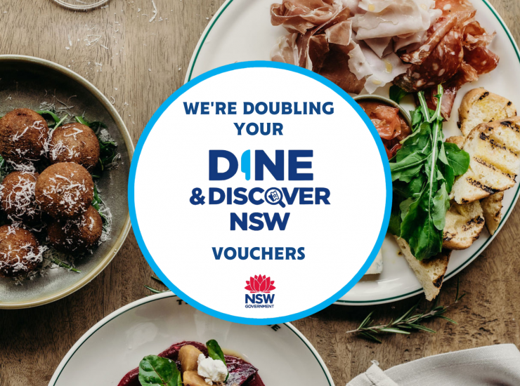 Double Your Dine & Discover Voucher