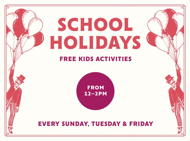 School Holidays – Free Kids Activities
