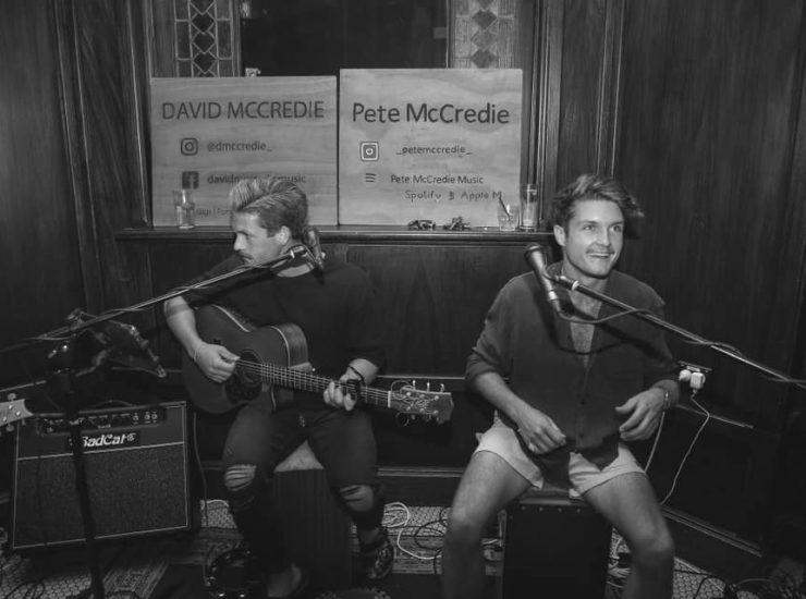 Sat 21 Aug: McCredie Brothers